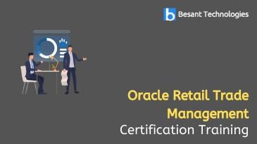 Oracle Retail Trade Management Training in Tambaram