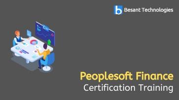 Peoplesoft Finance Training in Tambaram