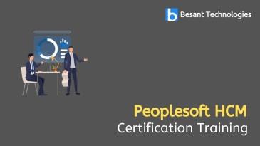 Peoplesoft HCM Training in Tambaram