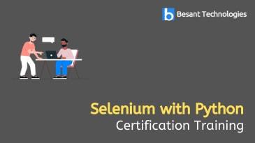Selenium with Python Training in Tambaram