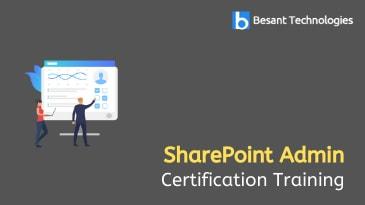Sharepoint Admin Training in Tambaram